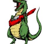 T-Rex Keytar