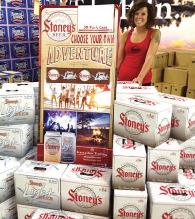Stoney's Adventure display