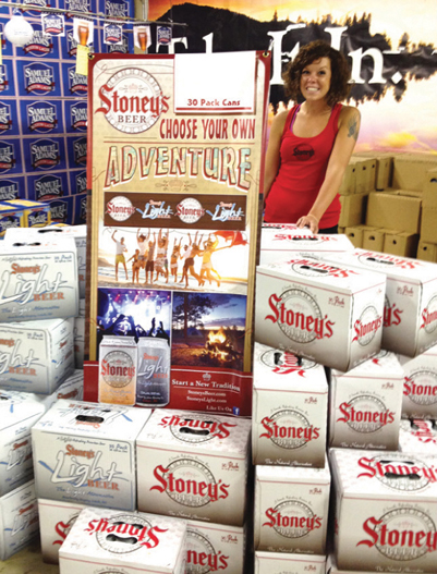 Stoney's Adventure display