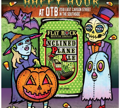 IPA Halloween poster