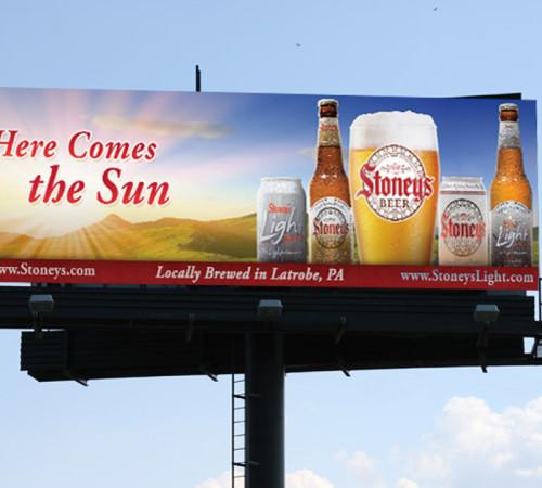 Stoney's Beer billboard