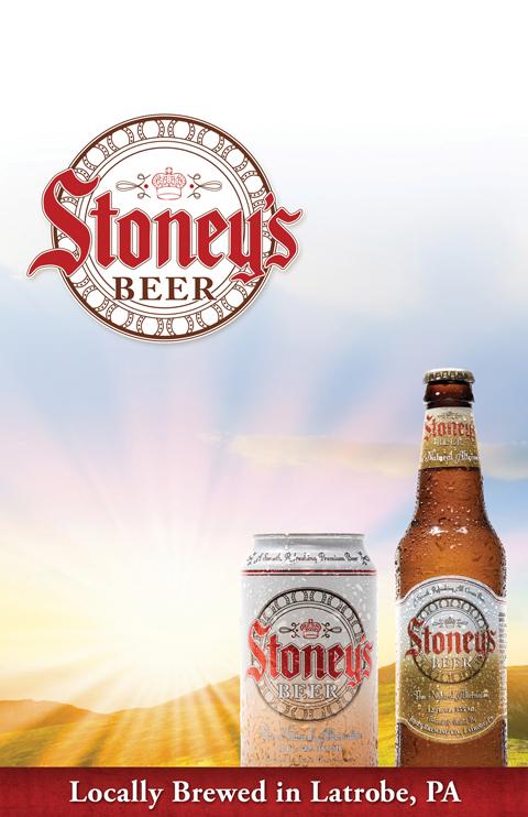 Stoney's price card