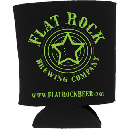 Flat Rock Brewing beer coozie